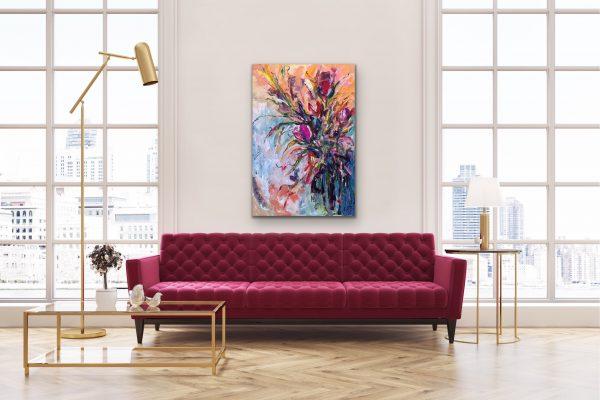 Fine art painting by Leena Hannonen